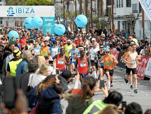 Un instante de la edición anterior del Ibiza Marathon.