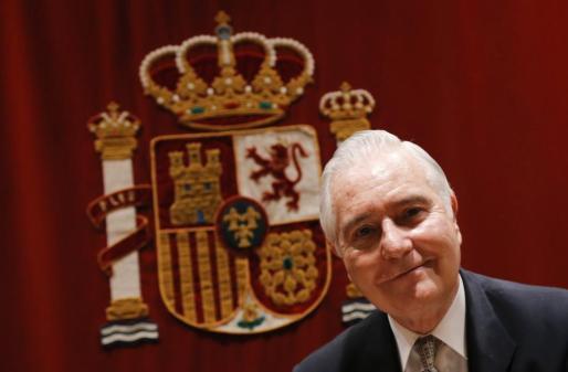 Carlos Divar, presidente del Consejo General del Poder Judicial (CGPJ), en una imagen de archivo.