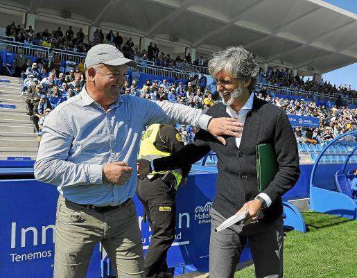 Manix Mandiola (i) y Pablo Alfaro (d).