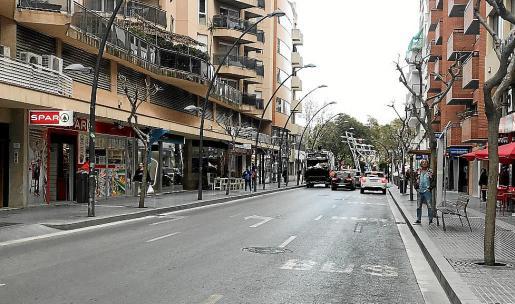 Los investigados fingieron un atraco a mano armada en la avenida España.