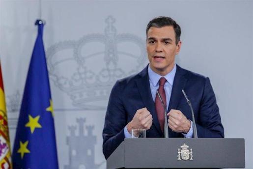El presidente del Gobierno, Pedro Sánchez, analiza el impacto del coronavirus tras una reunión extraordinaria por videoconferencia del Consejo Europeo.