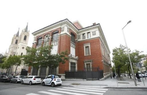 Sede de la RAE, en Madrid