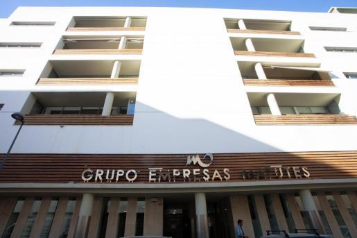 Sede del Grupo Palladium en Ibiza.