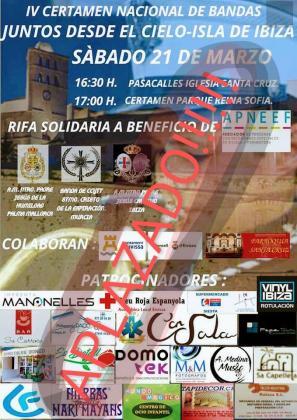El certamen 'Juntos desde el Cielo-Isla de Ibiza', aplazado por el coronavirus.