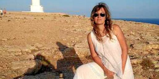 La escritora italiana Stefania Campanella espera poder volver pronto a la Pitiusa menor.