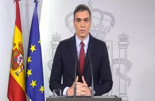 Comparecencia del presidente del Gobierno, Pedro Sánchez.
