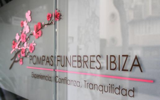 Imagen de la fachada de Pompas Fúnebres Ibiza.