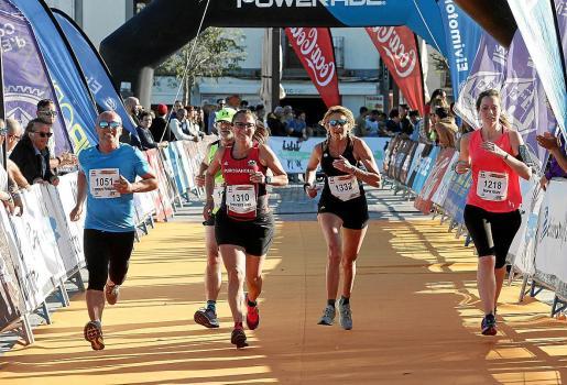 Una Imagen de la Ibiza Media Maratón del año pasado.