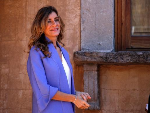 La esposa del presidente del Gobierno, Begoña Sánchez, en un reciente acto institucional.
