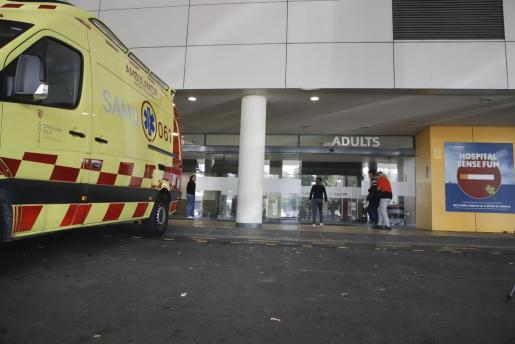 Imagen de los accesos al hospital de Son Espases.