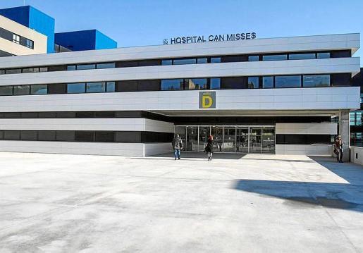 Fachada del Hospital de Can Misses