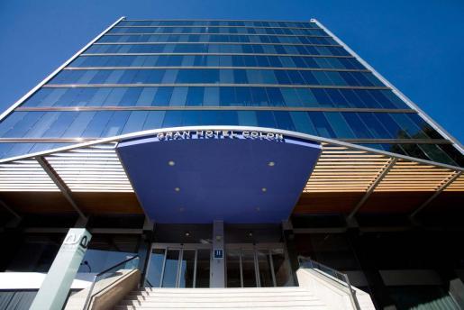 Imagen del hotel que va a albergar enfermos de Covid-19 en Madrid