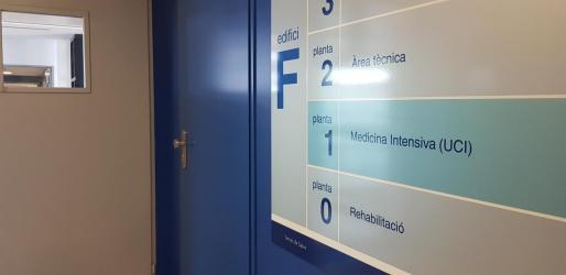 Planta F del hospital Can Misses.