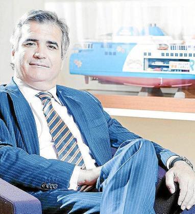 Adolfo Utor es el presidente de la naviera Baleària.