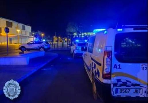 Control de la Policía Local de Sant Josep.