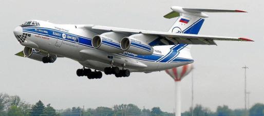 El Ilyushin Il-76, de la compañía rusa Volga Dnepr, es el carguero que ha fletado el Govern a través de Globalia Broker Services.