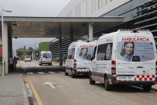 Ambulancias en Son Espases.