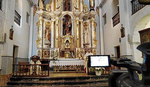 La TEF seguirá retransmitiendo las misas desde Sant Josep.