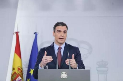 El presidente del Gobierno, Pedro Sánchez. - Ricardo Rubio - Europa Press