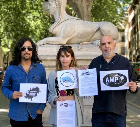 Foto de Archivo. (de izq. a der.) Danilo Martínez (A.M.Eivissa), Carla Gener (ex A.M.Menorca), Toni Oliver (A.M.Pollença).