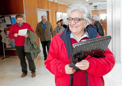 La activista del Movimiento Pitiuso Pro Radioterapia, Carmen Tur.