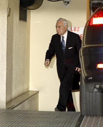 El presidente del Consejo General del Poder Judicial (CGPJ), Carlos Dívar.