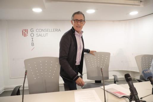 Javier Arranz es el portavoz del comité autonómico de coronavirus.