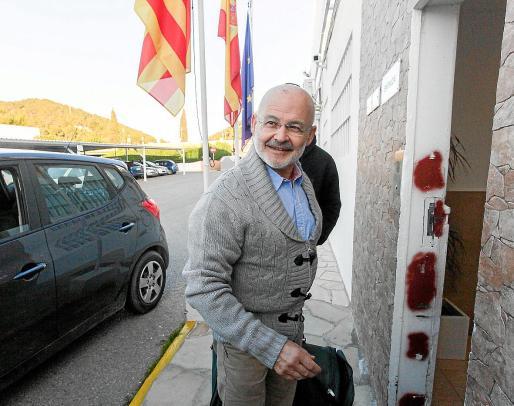 Una foto de José Juan Cardona al regresar a la prisión tras finalizar un permiso.