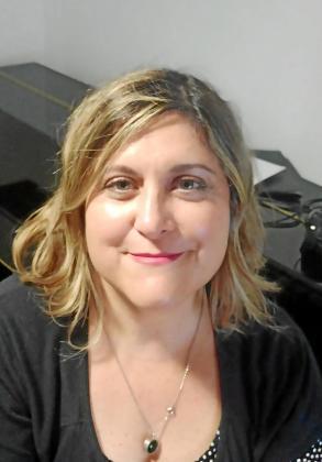 Carmen Ortiz , en una foto reciente, antes del confinamiento.
