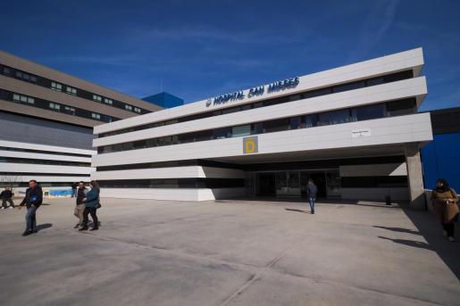 Exterior del hospital Can Misses.