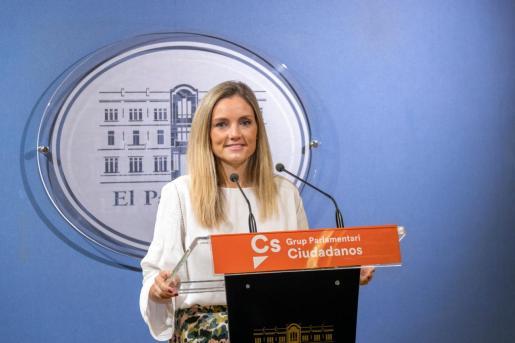 Patricia Guasp, diputada de Ciudadanos.