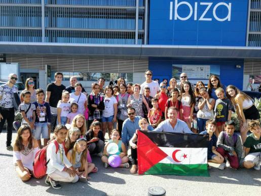 Imagen de archivo de una de las ediciones de Vacances en Pau de Amigos del Pueblo Saharaui