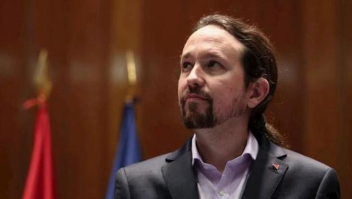 El vicepresidente Pablo Iglesias
