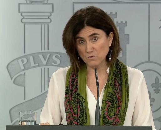 La directora adjunta del Centro de Coordinación de Alertas y Emergencias Sanitarias (CCAES), María José Sierra