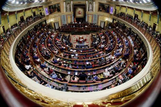 Imagen de archivo de una sesión del Congreso,