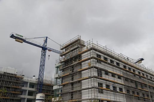 La construcción en las Islas quedó paralizada el pasado 30 de marzo.