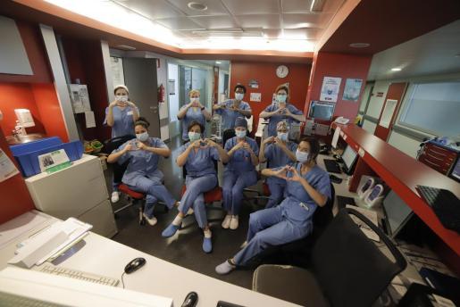 El personal sanitario está resultando clave en la recuperación de los pacientes.