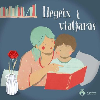 Imagen de promoción de las actividades virtuales con motivo del día de Sant Jordi en Formentera.