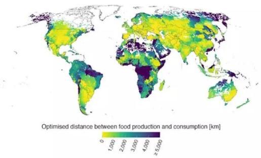 Distancia entre la producción de alimentos y de su consumo - Aalto University
