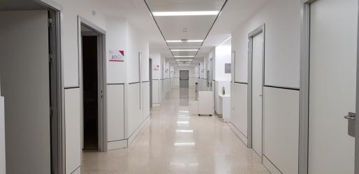 La Unidad de Media Estancia Ca Na Majora alberga a los usuarios de las residencias sociosanitarias.