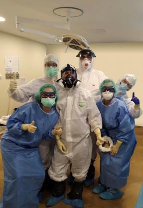 Equipo de Cirugía General de la Policlínica.