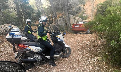 La patrulla de la Policía Local de Sant Antoni descubrió el coche del vecino denunciado.