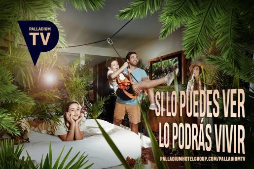 Palladium Hotel Group estrena canal de televisión.