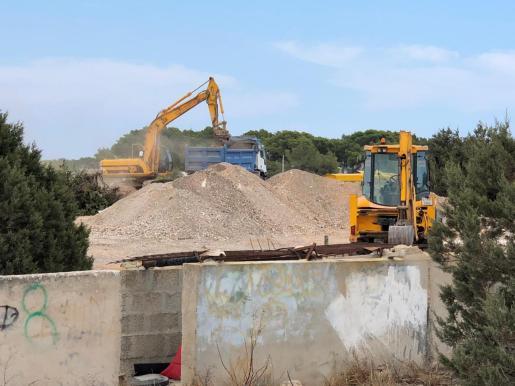 Obras del nuevo CEIP de Sant Ferran.