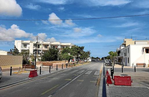 Las calles y playas de Formentera eran un desierto en el día de ayer, al igual que el resto de días desde que se decretó el estado de alarma por el Gobierno central.