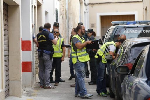 La Policía Judicial de la Guardia Civil se hizo cargo de la investigación sobre el accidente mortal.