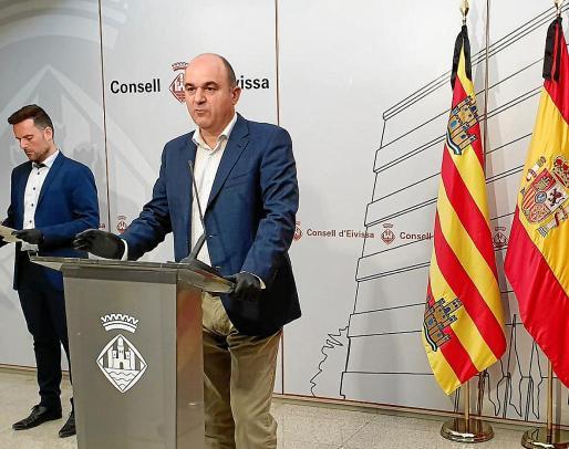 Vicent Marí presenta el Plan Insular de Reactivación y Recuperación Económica, Social y Ambiental.