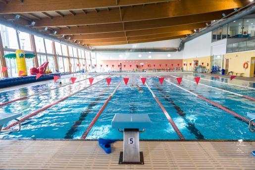 Una imagen de la piscina de es Viver.