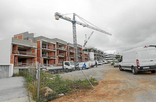 Imagen de archivo de un edificio en obras.