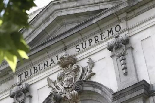 Fachada de la sede del Tribunal Supremo. - EUROPA PRESS - Archivo